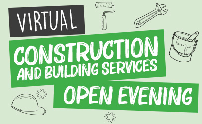 Virtual Construction and Building Services Open Evening - Vision West Nottinghamshire College - Mansfield