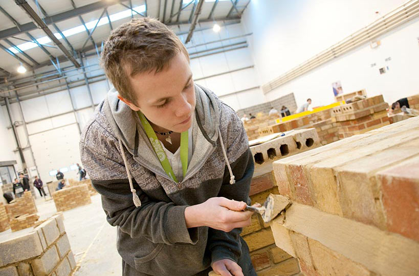 Construction centre - A purpose-built facility to allow the college's construction students to practice industry skills. <a href=