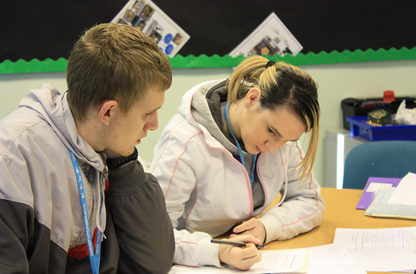 Foundation Studies students learn important CV writing skills helping them to prepare for potential employment.