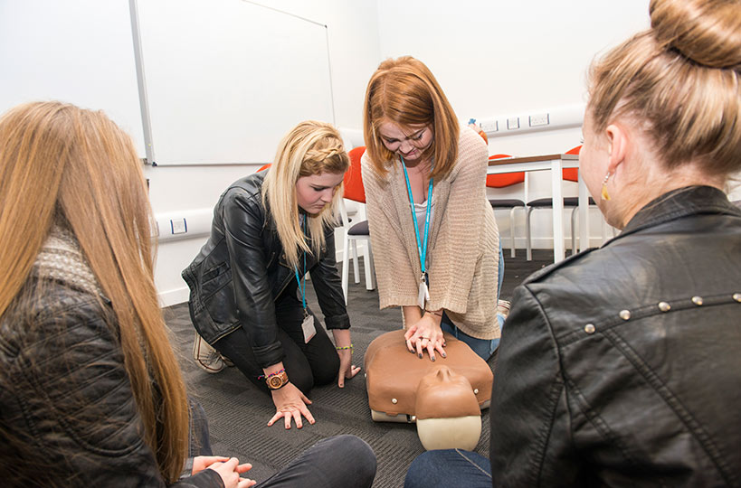 Learning first aid is one of the most important elements of a health and social care course.