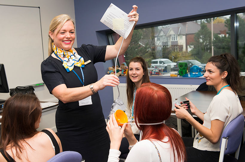 Travel and tourism students often enjoy practical demonstrations in-house and from external travel companies to really understand the industry.