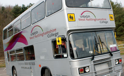 photo of vision bus