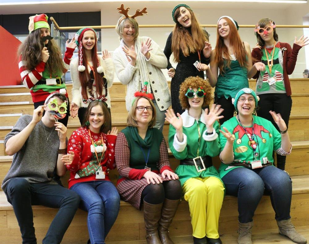 Helpful elves magic the cash for national charity
