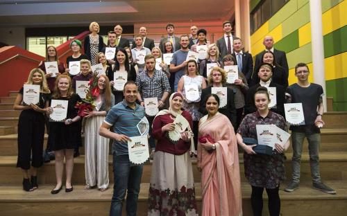 Accolades and applause for inspirational students