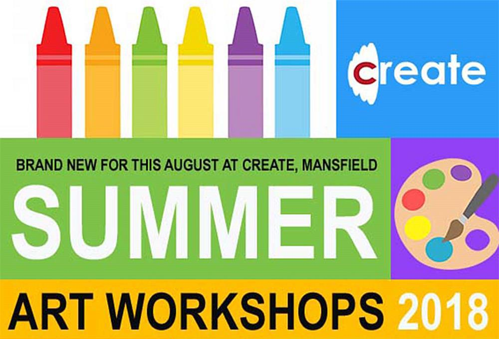 Summer art workshops are coming to West Notts