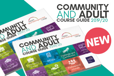 Order your copy of the new community and adult course guide