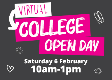 Find out more about our virtual open day