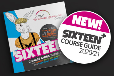 Order a copy of the new sixteen plus course guid